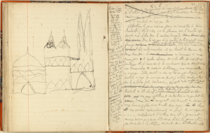 Marcel Proust, Cahier 46, fos 93 v°-94 r°-BnF, NAF 16686