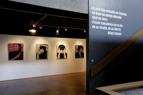 "Figure : Exposition ""Miki Nitadori, Combat"", novembre 2008"