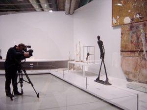 """Sophie Schenck, Vue de l'exposition """"L'atelier de Giacometti"""", 2007"""