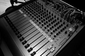 radio thesards - table mixage