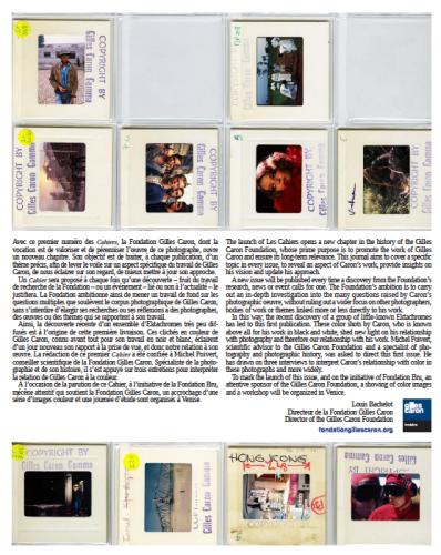 Cahiers-Fondation-Caron_Couleur n°1_ 4ème de couverture