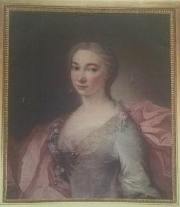 Portrait de la Présidente Dubourg,collection privée, tous droits réservés à Mariotto Anne