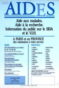 Campagne AIDES 1987 libération.fr