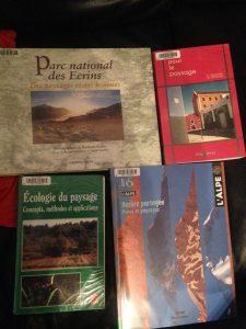 Livres trouvés dans la bibliothèque des sciences de l'université de Grenoble.