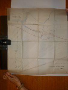 Schéma de l'usine de traitement de café. Archives privées. Archives de l'UCL. Tous droits réservés