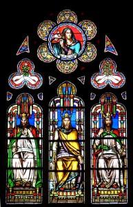 Vitrail de Laurent-Charles Maréchal, (Eglise St-Germain-l'Auxerrois, Paris)