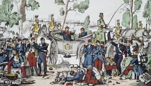 Anonyme, Désastre de Sedan, (après 1870, Musée Carnavalet, Paris)