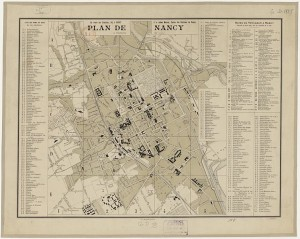 Plan Nancy 1894