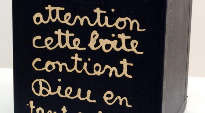 Le sacré : intervention de Philippe Gaudin