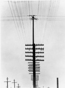 Tina MODOTTI (1896-1942), Poteaux télégraphiques, 1925