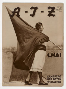 Couverture du journal AIZ n°17, 1931