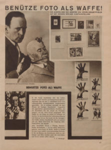 John HEARTFIELD (1891-1968), « Utilise la photographie comme une arme », AIZ, n° 37, 1929