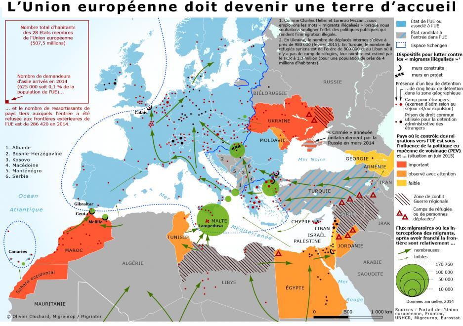 l'UE terre d'accueil