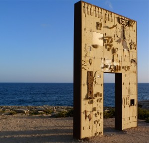 Porta di Lampedusa Porta d'Europa, M. Palladino @S. Bonnefille, 2014
