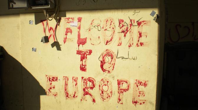 Marina Rafenberg, A Lesbos, le cauchemar des réfugiés de Moria, lemonde.fr, 13/12/2017