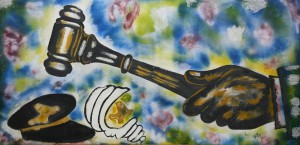 """""""La Justice"""" selon Boubacar TANGARA dit Kokè, artiste de Segou 1"""