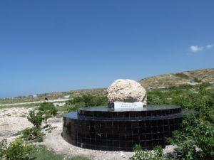 Mémoriel des fosses communes Haïti
