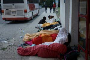 réfugiés syriens Budapest