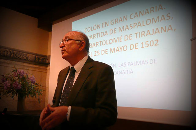 Conferencia Colón en Gran Canaria