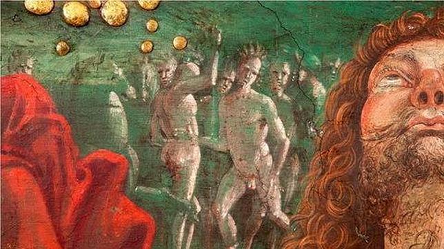 """Indígenas americanos en la """"Resurrección de Cristo"""" de Pinturicchio"""