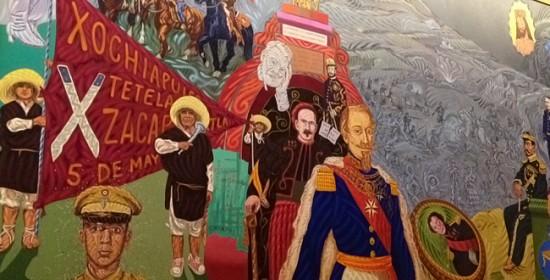 Mural del Cinco de Mayo - Puebla