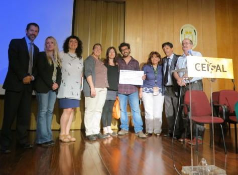 Entrega Premio CEISAL joven investigador