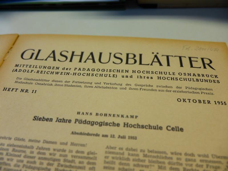 Glashausblätter