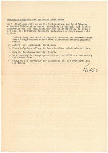 ANleitung für das Stadtschulpraktikum (NLA OS Erw A 54 Akz. 2012 068 Nr. 1 R)