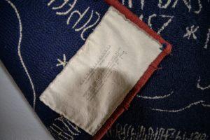 Die rückseitig angebrachte Inschrift