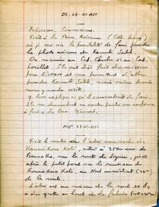 Mardi 27 novembre 1951