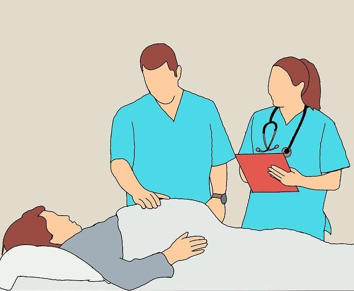dessin consultation femme enceinte