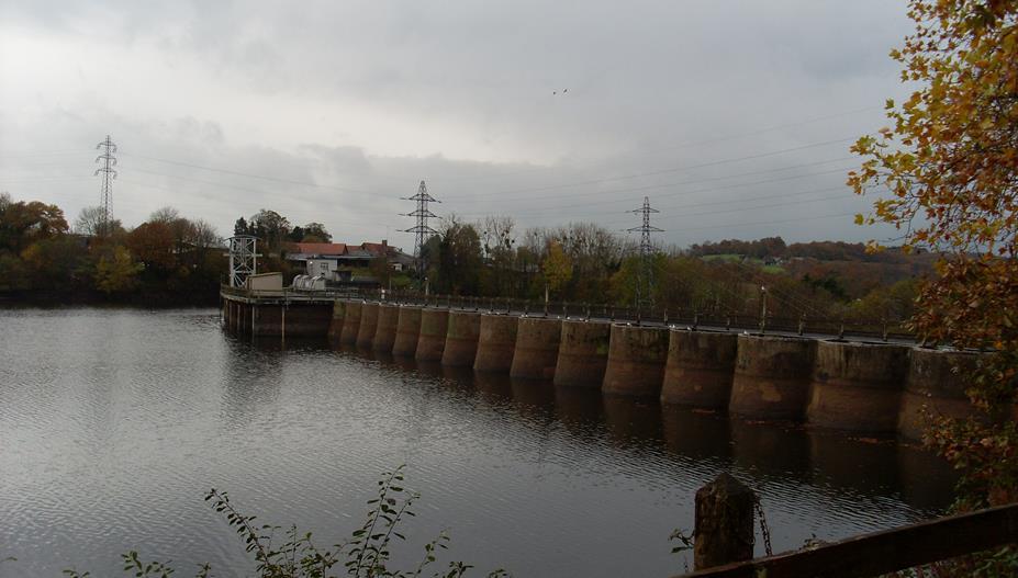 barrage de vezins
