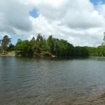 le parc de Vezins vu depuis le bois (Isigny-le-Buat, 50), Cliché 190