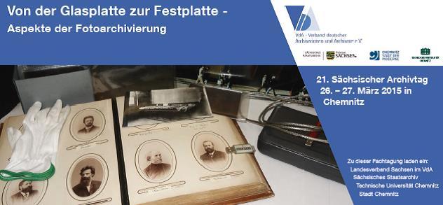21. Sächsischer Archivtag 2015, Chemnitz