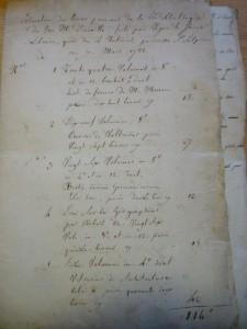 L'Archive du mardi 15#: L'inventaire de la bibliothèque de d'Anville