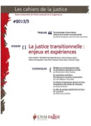 JUSTICE TRANSITIONNELLE
