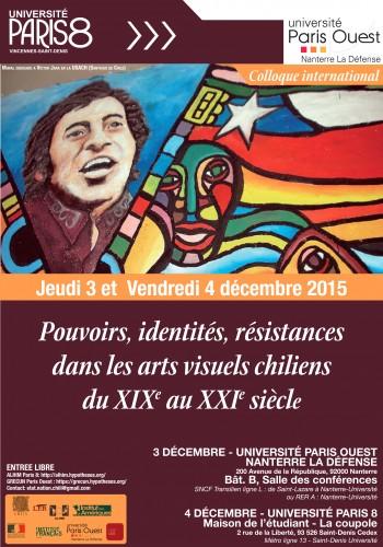Affiche colloque Chili III