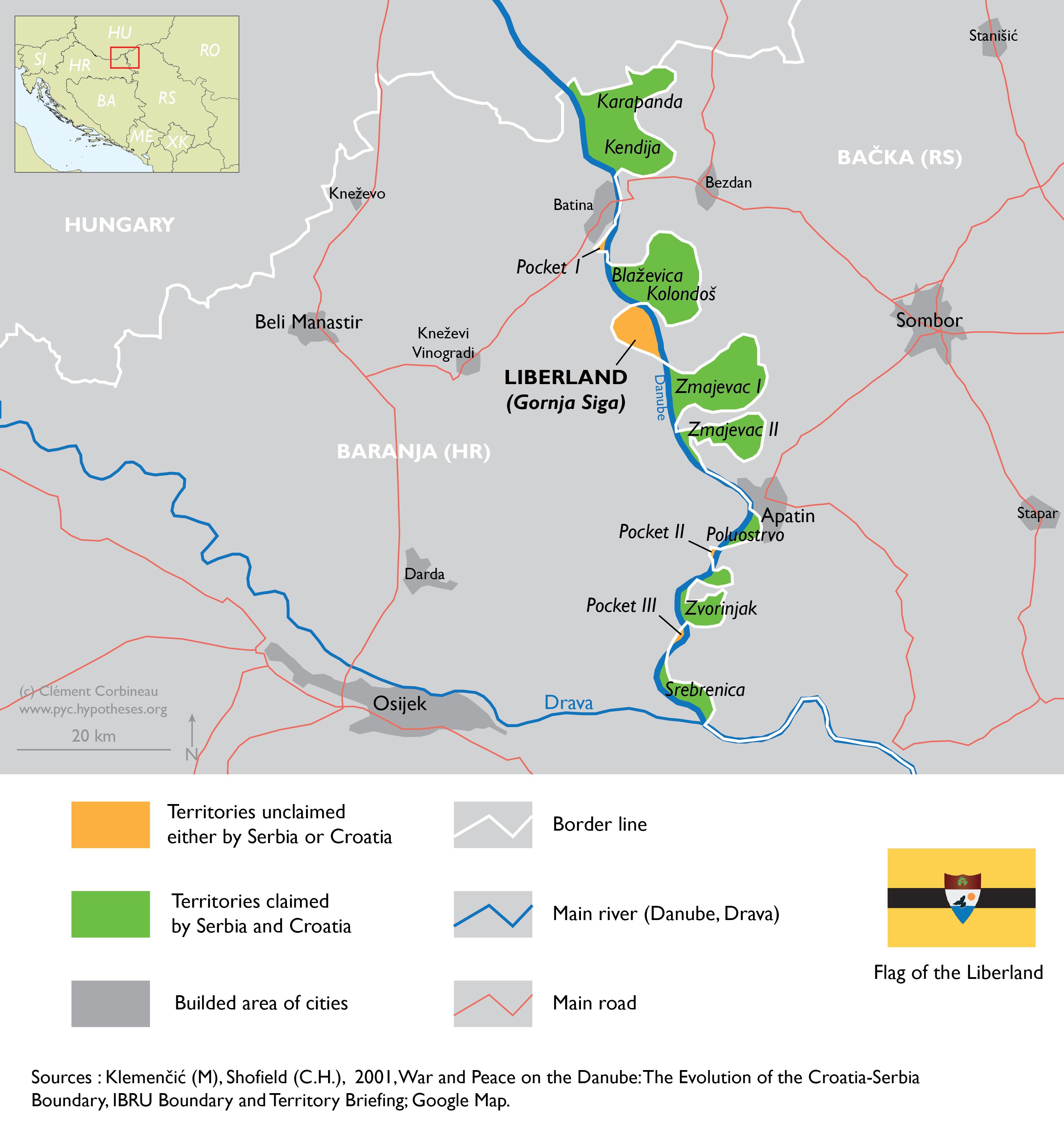 Map Liberland
