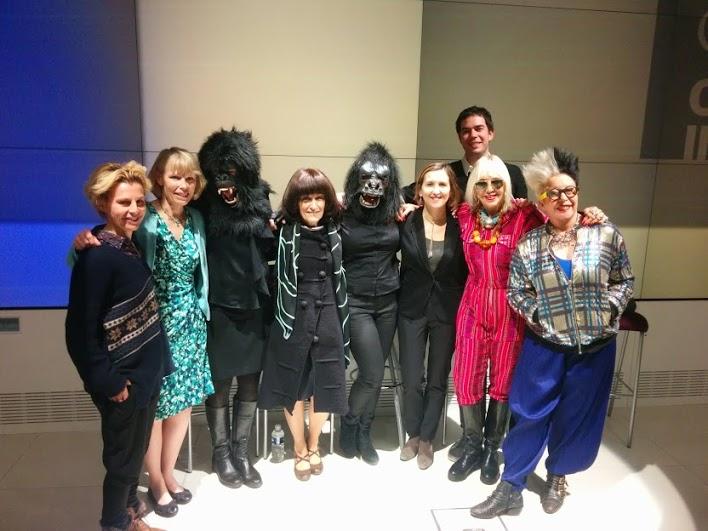 Artistes femmes / femmes ingénieures : une esthétique de la rareté - Google Lab - Camille Morineau Avec Orlan et les Gorillas Girls