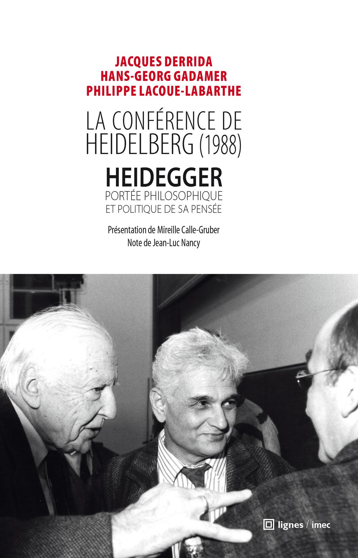 la conférence de heidelberg (1988)