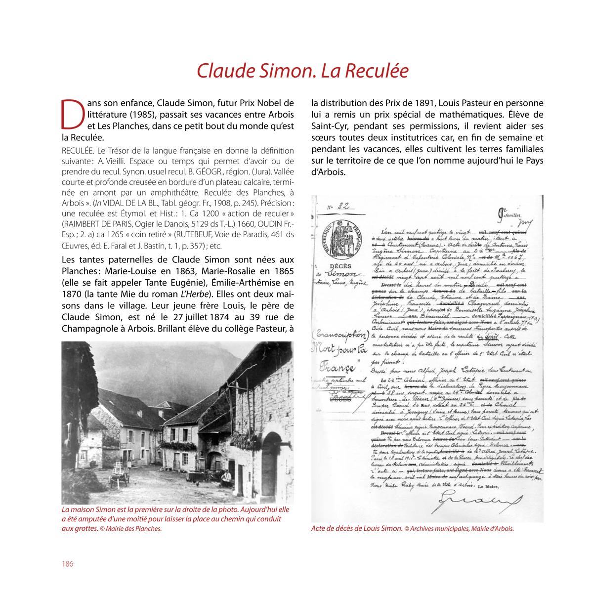 Claude-Simon - Les Planches (Jura)