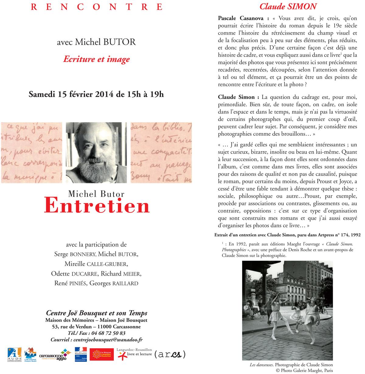 Rencontre avec Michel Butor - page 1
