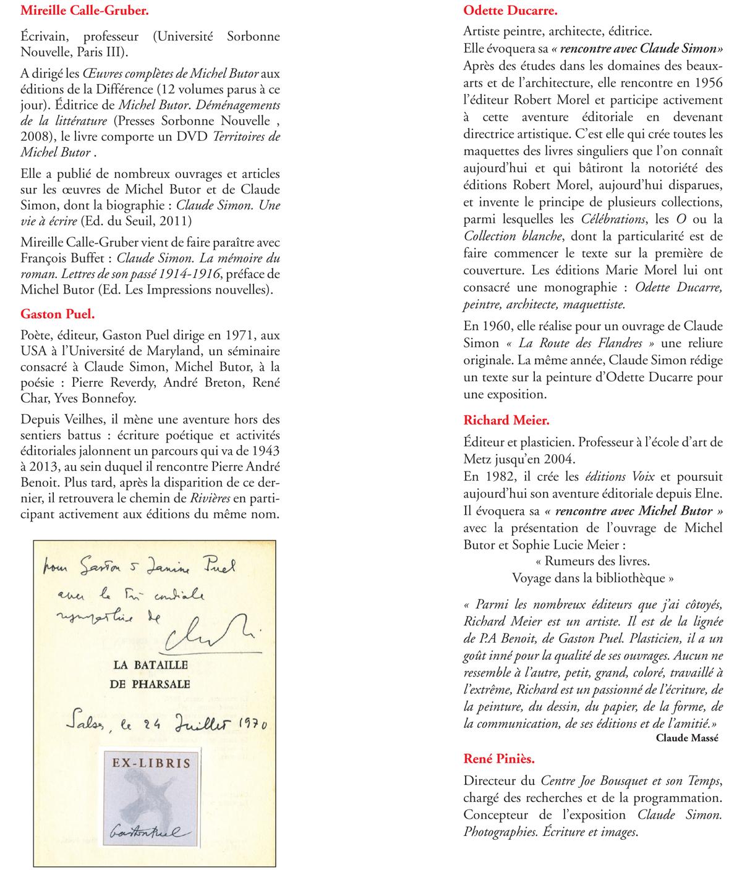 Rencontre avec Michel Butor - page 4