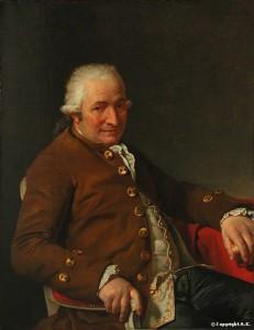 Jacques-Louis David, Charles-Pierre Pécoul, 1784, huile sur toile, 73 x 92 cm, Paris, musée du Louvre.