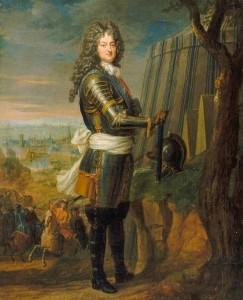 Attribué par Christophe Henry à la famille Parrocel, Philippe, duc d'Orléans, régent de France, vers 1717, huile sur toile, 46 x 38 cm, Versailles, musée national des châteaux de Versailles et de Trianon.