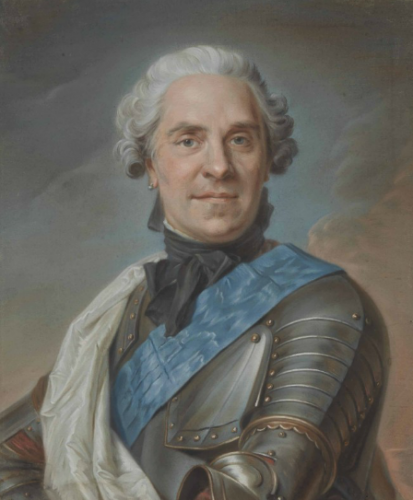 Maurice-Quentin de La Tour, Portrait du comte Maurice de Saxe, Maréchal de Saxe,