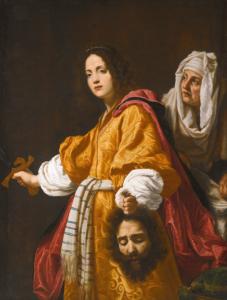 Cristofano Allori, Judith et Holopherne, 1613, huile sur toile, 142 x 107,1 cm.