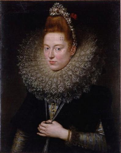 Peter Paul Rubens, La Dame de Licnidi, huile sur toile, 76 × 60 cm, inv. 1779-1B0166.