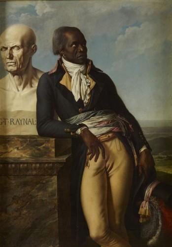 Anne-Louis Girodet, Portrait de Jean-Baptiste Belley, 1797, huile sur toile, 159 x 112 cm, Versailles, musée national des châteaux de Versailles et de Trianon.