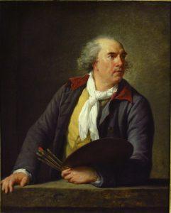 fig. 2.Louise-Élisabeth Vigée Le Brun, Hubert Robert (1733-1808), 1788, huile sur bois, 105 x 84 cm, Paris, musée du Louvre